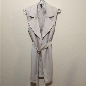 H&M Belted Blazer Vest | Sz: 4 |